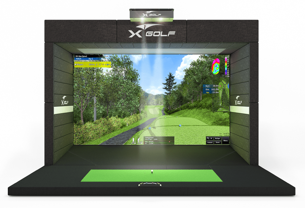 X-Golf Simulator EYE Model 3D Render